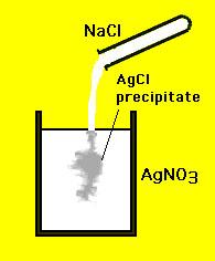 Chemical reaction precipitate