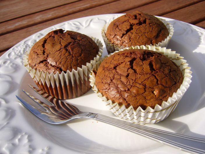 Шоколадный кекс брауни рецепт с фото