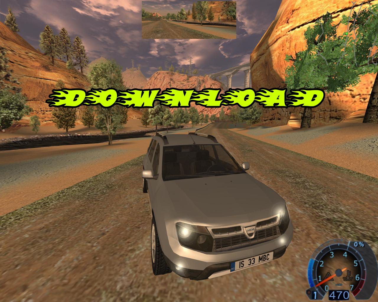 dacia duster in world racing 2. Black Bedroom Furniture Sets. Home Design Ideas