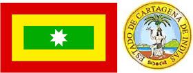 Cartagena: Bandera y Escudo
