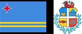 Aruba: Bandera y Escudo