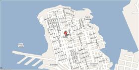 Mapa de Colón, Panamá