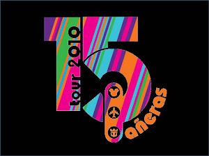 5 años del logo