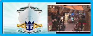 Royal Promenade, el corazón del barco