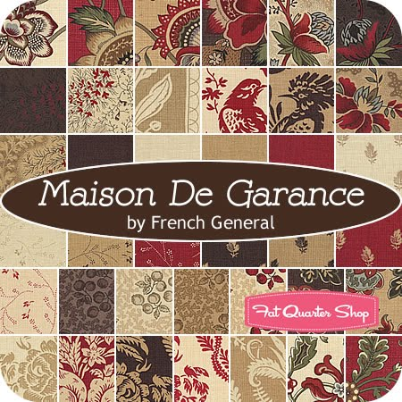Mugwa cottage french general fabrics for Au maison fabric