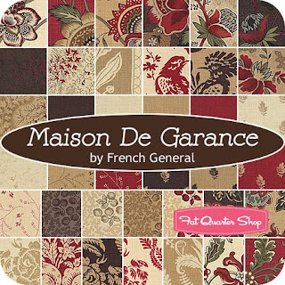 Mugwa cottage french general fabrics for Au maison quilts