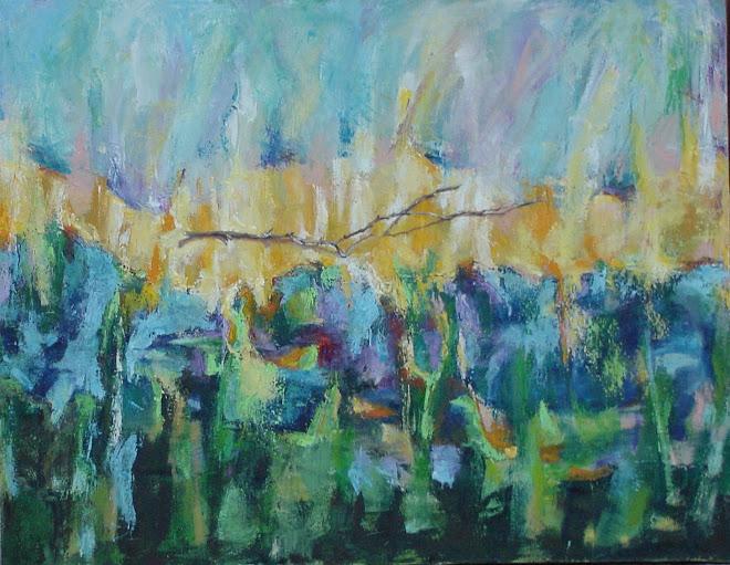 paisaje con rama