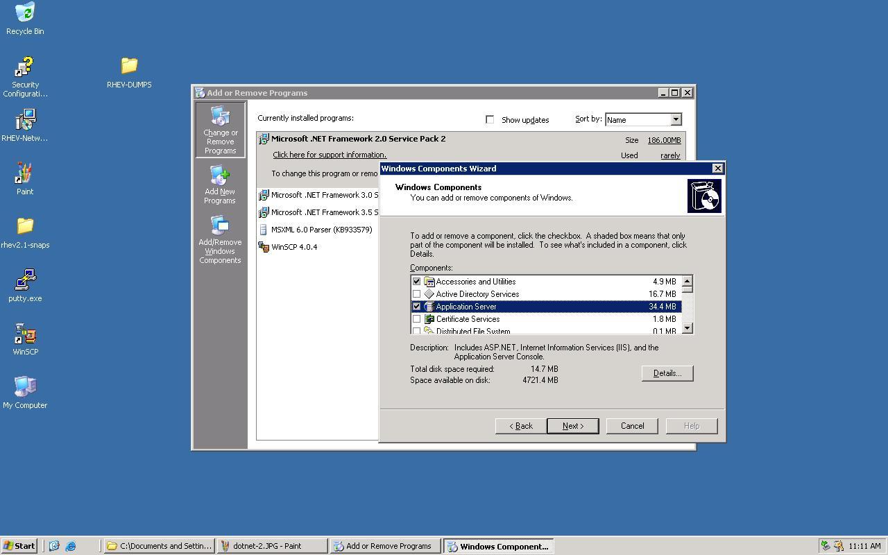 Dotnetfx35 exe options