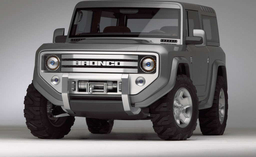 Road Car Pictures 2004 Ford Bronco Concept