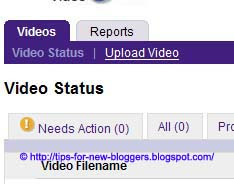Add Video Clip to Blog