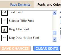 Change Font Size and Font Style