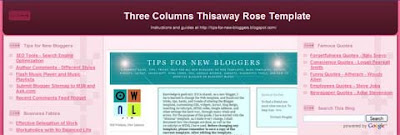 Three Columns Thisaway Template (II)