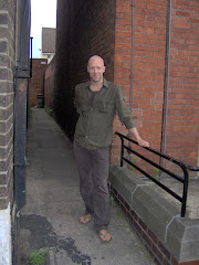 my friend Kevin at the entrance to Porno alley