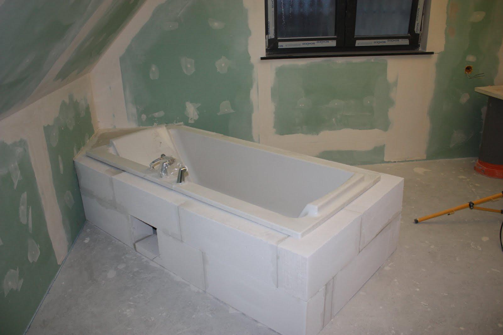 baignoire rectangulaire de 180x80 avec un dbord de 10cm - Domotique Salle De Bain