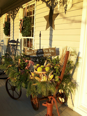 Farmhouse Country Style A Country Christmas And A