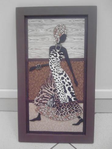 Africana Aqualture - Ganhadora do concurso de patchwork do programa Tarde Vip (SBT) e Costura Tudo