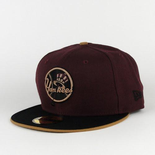To purchase this burgundy new york yankees new era hat, click here