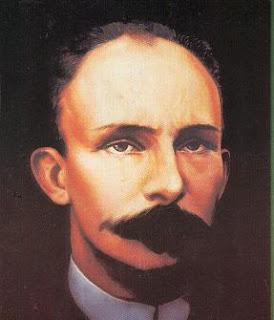 Pintura del rostro de José Martí