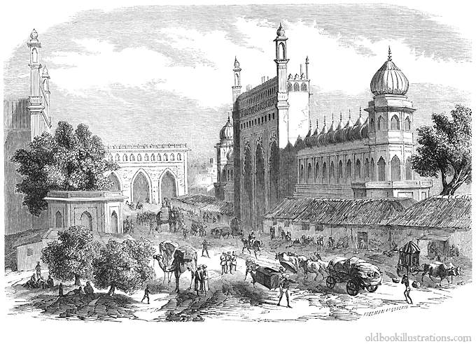 Lucknow in the past, History of Lucknow