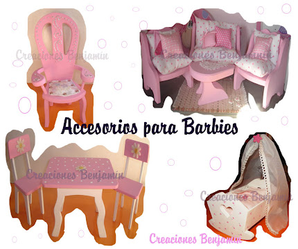 Accesorios para Barbies