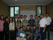Peserta Seminar Menulis dan Menerbitkan Buku Renungan Harian
