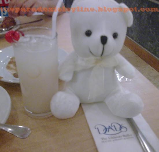 White bear of Kamayan Buffet
