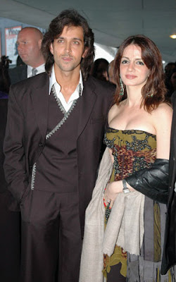 hrithik and his wife