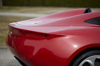 Alfa Romeo Spider designed by Pininfarina (2uettottanta) back detail