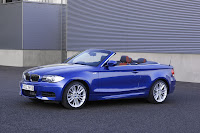 BMW 135i Convertible front