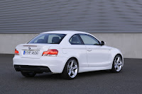 BMW 135i Coupe back