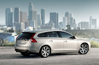 The new Volvo V60 sports wagon back