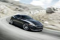 Jaguar XK front side