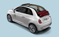 Fiat 500c backside