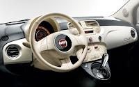Fiat 500c dash