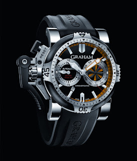 Graham Chronofighter Oversize orange