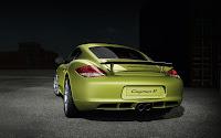 Porsche Cayman R back