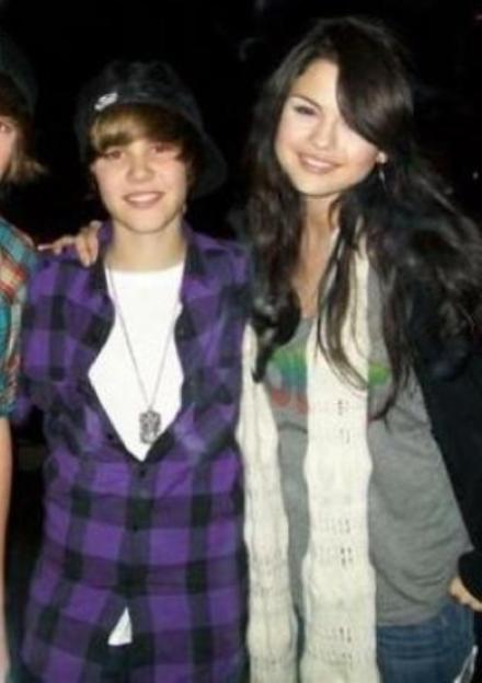 "Look "" MTV Video Music Awards"" 2010 Justin Bieber e Selena Gomez ."