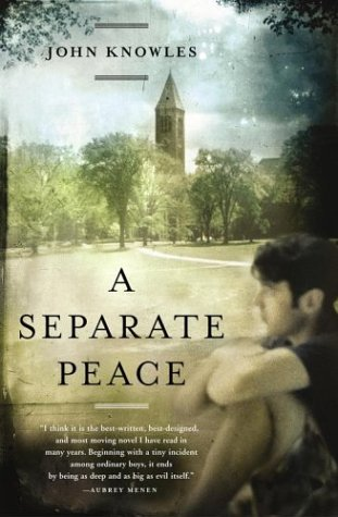 an analysis of the two friends in the novel a separate peace by john knowles Analysis of a separate peace by john knowles a separate peace book analysis essay a trail for the two finny realizes that his best friend really.