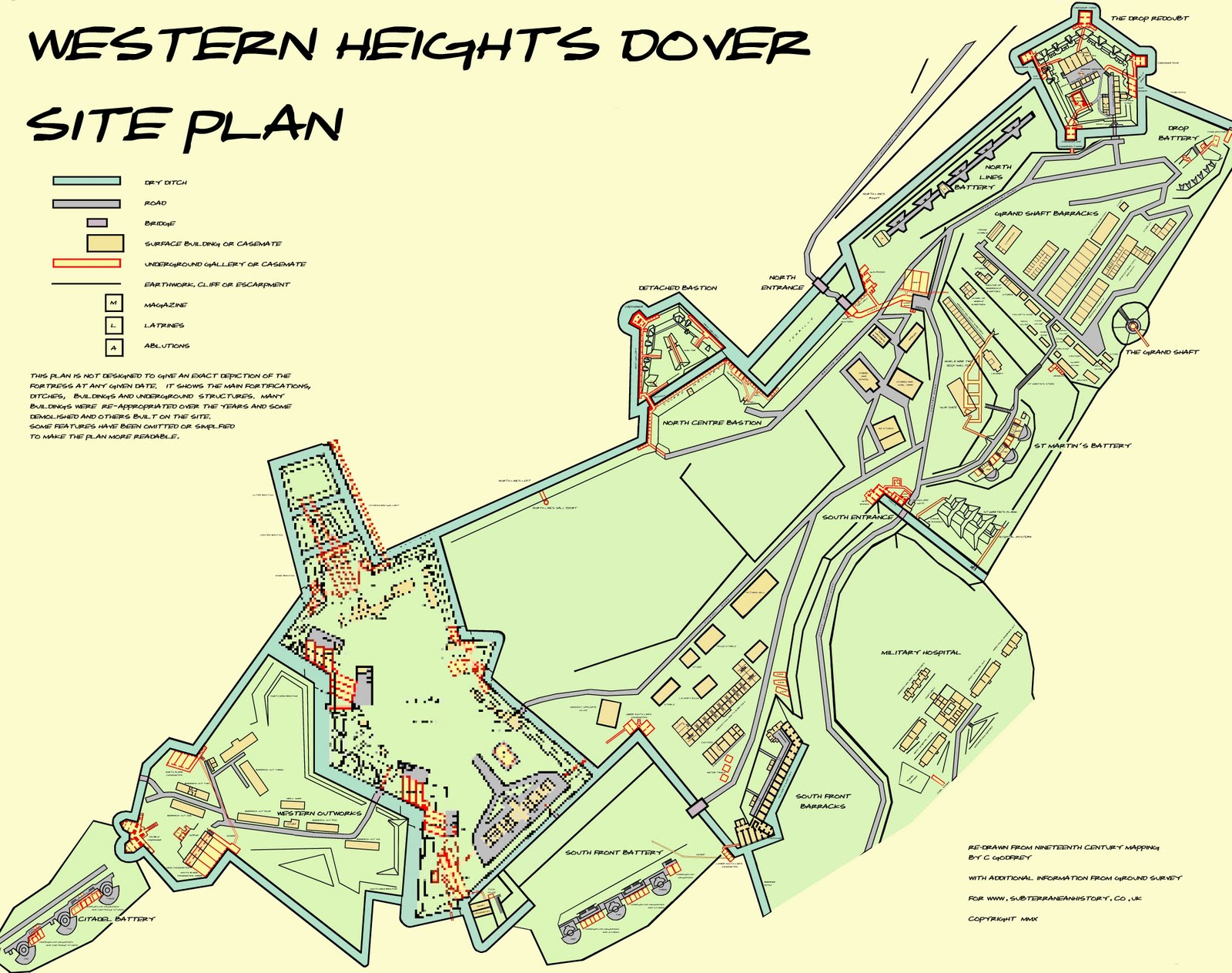 Subterranean History Western Heights Dover