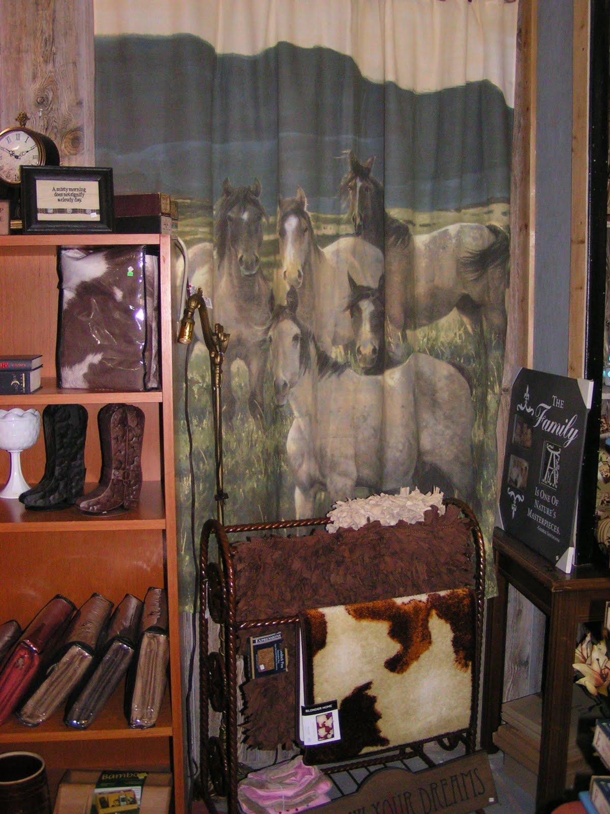 jojo west shop cotton bed sweet bath kids deals curtains denim shower s curtain wild designs exclusive cowboy western and blue