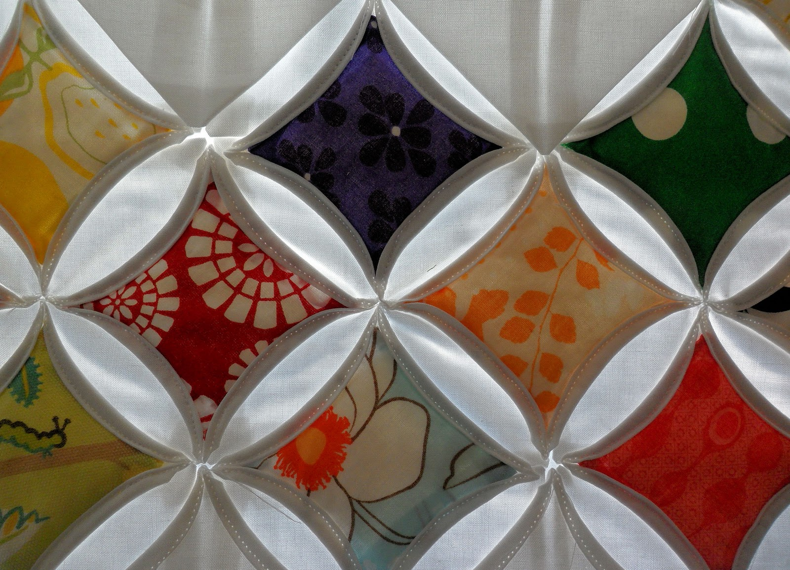 The Jilted Ballerina Cathedral Window Quilt Tutorial