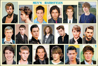 Men Hair Styles Poster