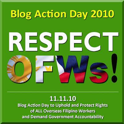 Respect OFWs!