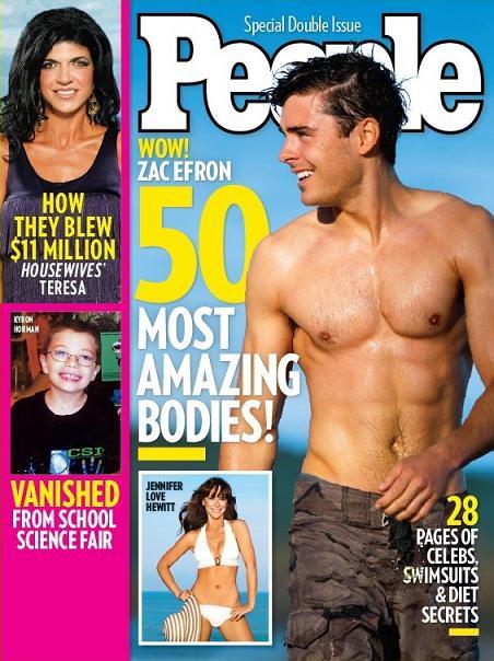 Zac Efron Photos for People Magazine