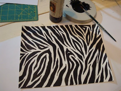 zebra wallpaper border. tailored zebra wallpaper