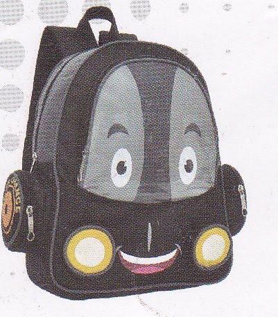 Tas sekolah GARSEL untuk anak laki-laki