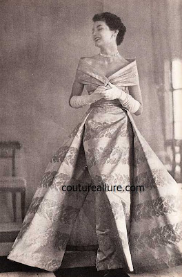 Vintage couture gowns explanation