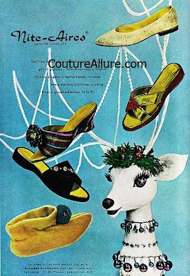 vintage slippers, Nite-Aires