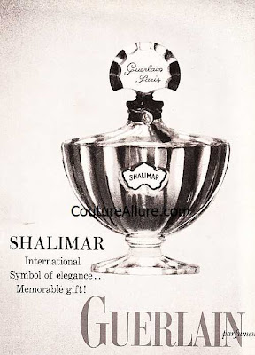 vintage guerlain shalimar perfume
