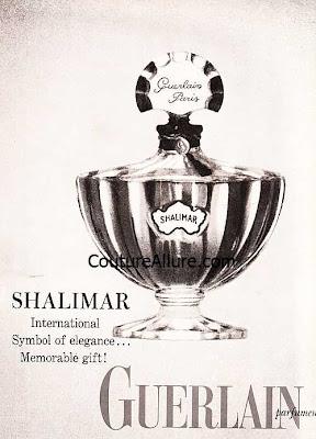 vintage guerlain shalimar perfume